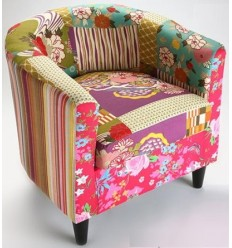 Silla patchwork Memories
